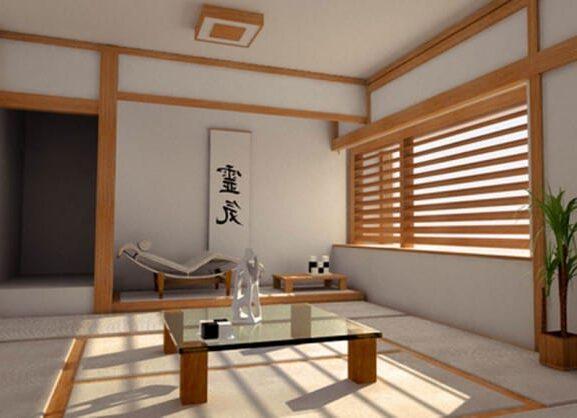 интерьер в стиле японского минимализма
