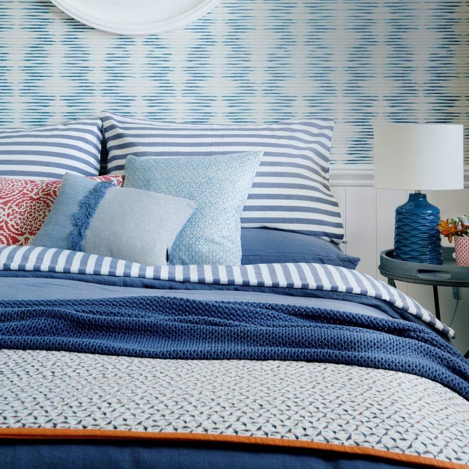 синяя спальня
