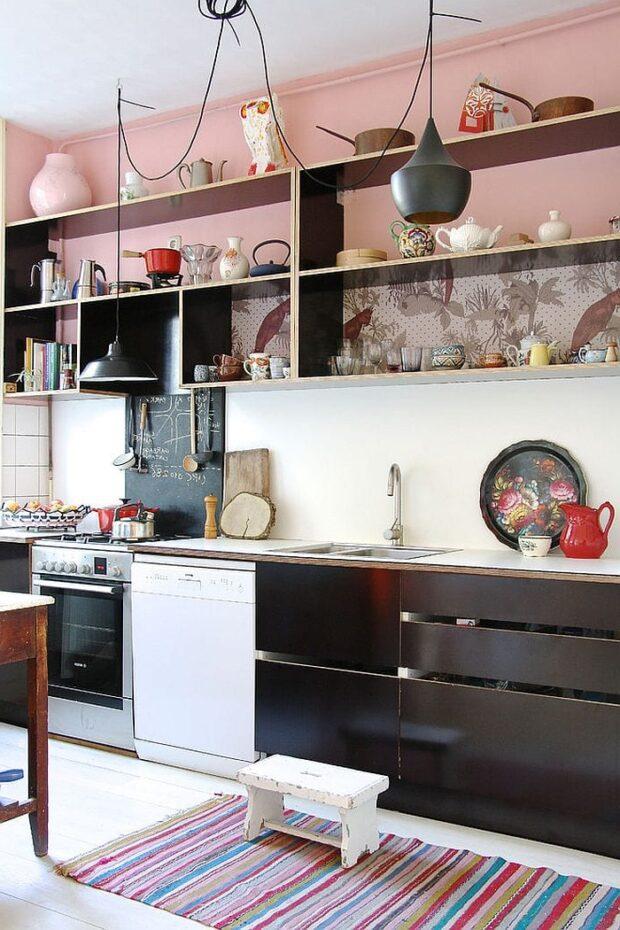 кухня в скандинавском стиле без верха