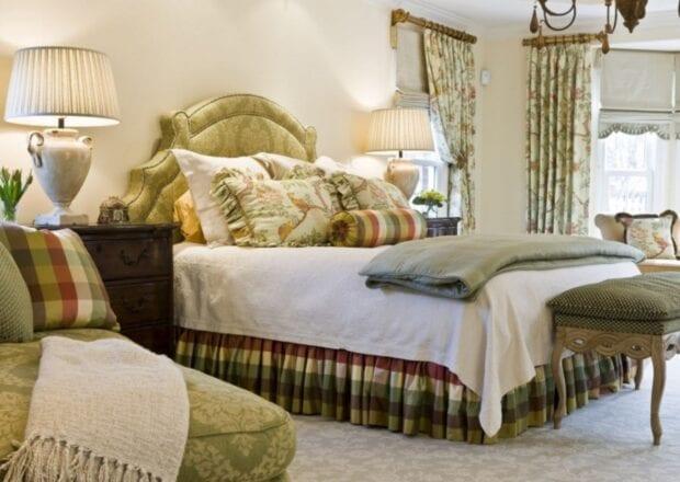 шторы для светлой спальни