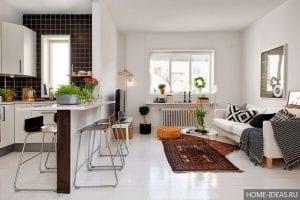 10 оригинальных и полезных дизайнерских решений для небольшой квартиры