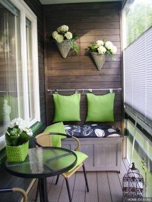 30 идей для маленького балкона