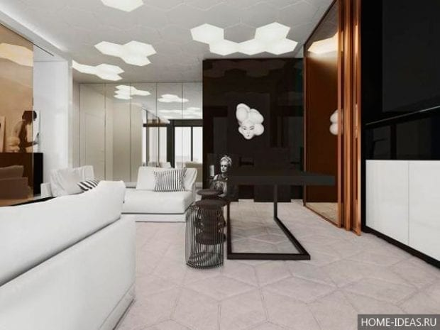 5 небольших квартир-студий с великолепным дизайном