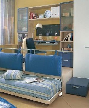 Дизайн комнаты для подростка: что делать с цветом стен и как выбрать мебель