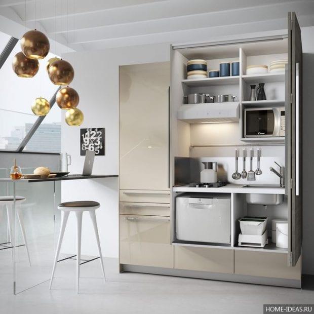 Дизайн кухни: фото 2017 — современные идеи