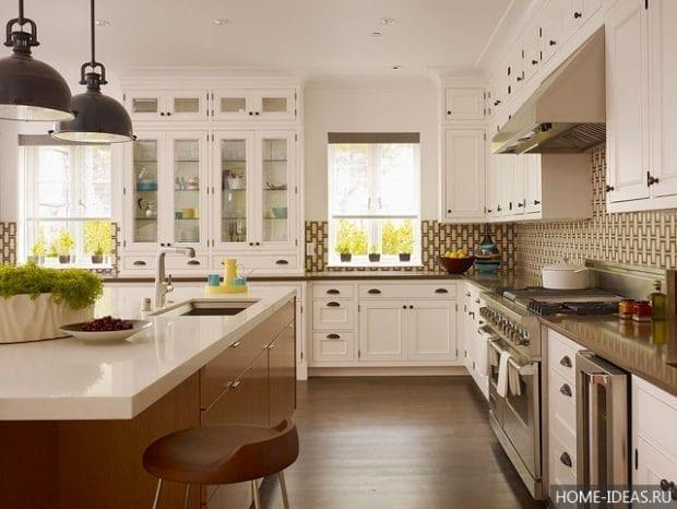 Дизайн кухни-студии: фото