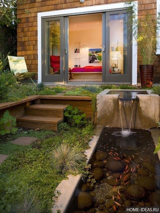 Дизайн сада и огорода на 6 сотках: фото