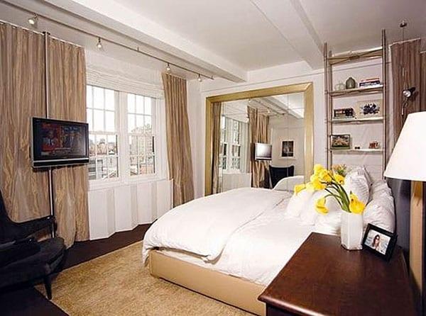 Дизайн уютной спальни для маленькой комнаты