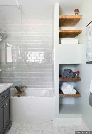 Дизайн ванных комнат маленьких размеров без туалета: фото