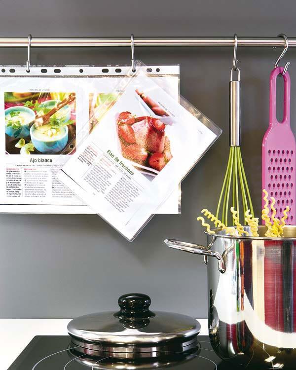Хозяйке на заметку: файл-вкладыш помощник на кухне