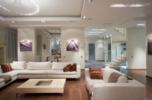 Идеи гостиной в современном стиле