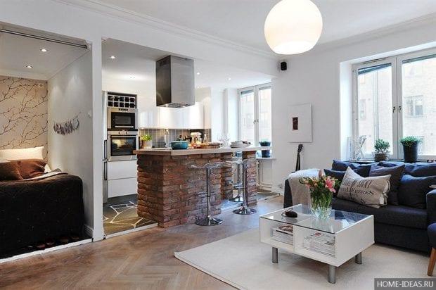 Идеи обстановки маленькой квартиры