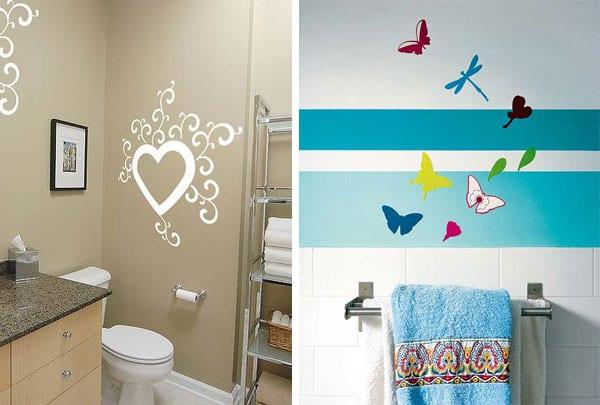 Идеи оформления стен: декор интерьера виниловыми стикерами