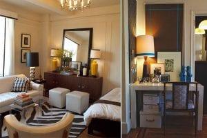 Интерьеры однокомнатных квартир для двоих