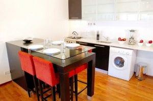Интересный интерьер малогабаритной квартиры из Южной Америки