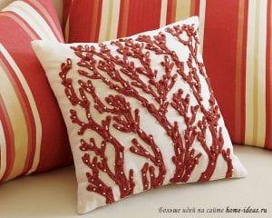 Как подобрать декоративные подушки в интерьер