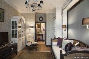 Как расставить мебель в прямоугольной комнате?