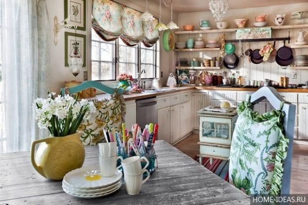Как сшить шторы на кухню своими руками?