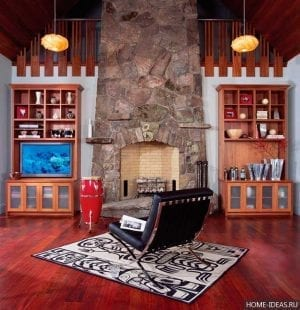 Камины для дома дровяные из кирпича своими руками: проекты, фото