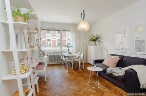 Красивый интерьер квартиры для девушки
