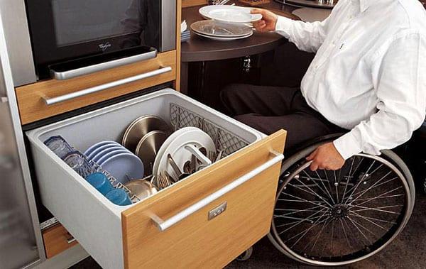 Кухни для инвалидов от итальянских дизайнеров