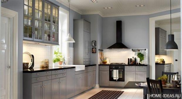 Кухни ИКЕА в интерьере: фото