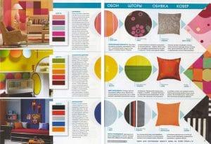 Обои и текстиль в интерьере: сочетаем цвета и фактуры