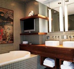 Обустраиваем интерьер маленькой ванной комнаты