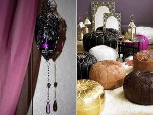 Оформление интерьера спальни в арабском стиле