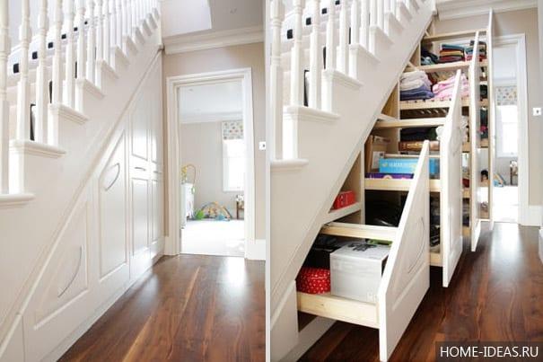 Оригинальные идеи для хранения вещей в квартире или доме