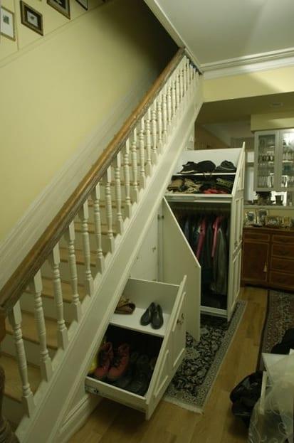 Потайные двери в современной квартире