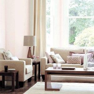 Розовый цвет в интерьере и его удачные сочетания