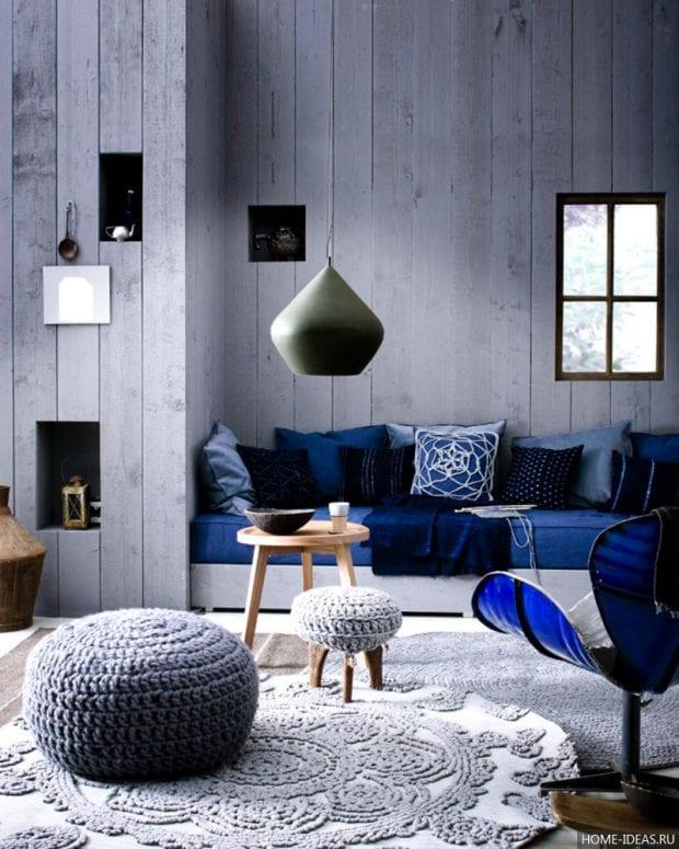 Серый цвет в различных стилях интерьера
