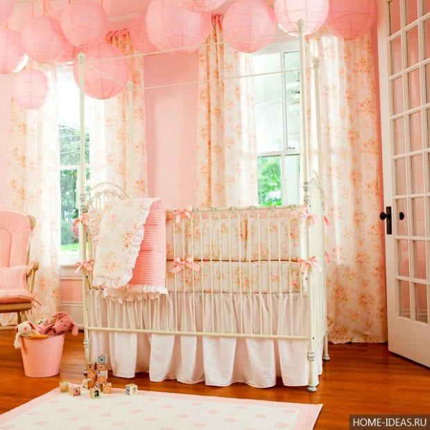 Шторы для детской комнаты девочек: фото
