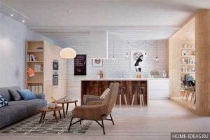 ТОП-3 планировок однокомнатной квартиры 30 м2