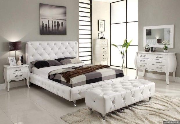 Цветовое оформление интерьера спальни