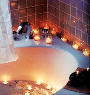 Ванная для двоих, создаем атмосферу романтики