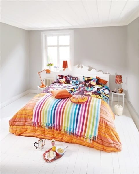 Весенние идеи для оформления спальни