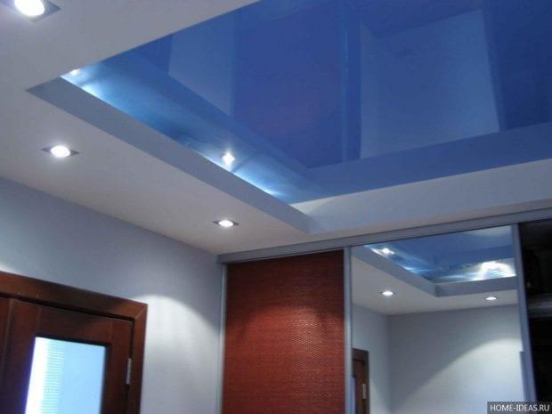 Виды потолков из гипсокартона: фото