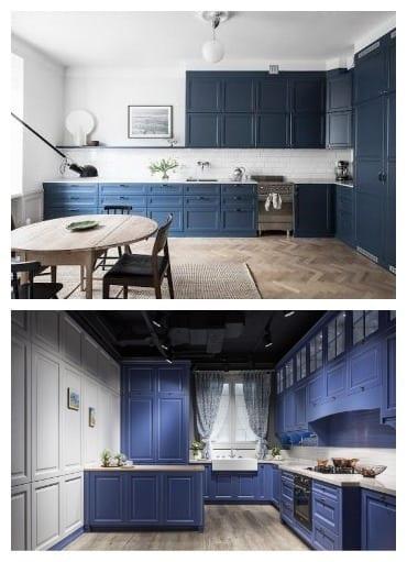 Синяя кухня 2021