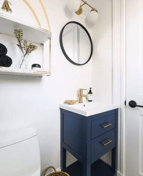 ванная в скандинавском минимализме