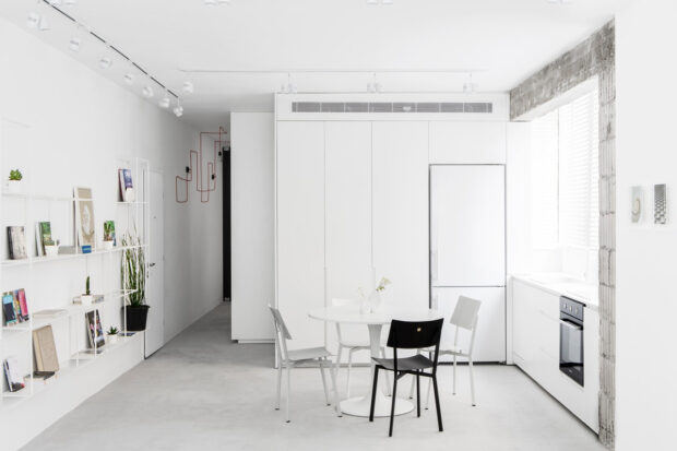 кухни белого цвета в интерьере