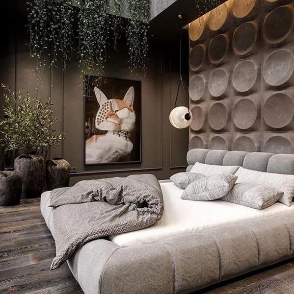 маленькая спальня в эко-стиле